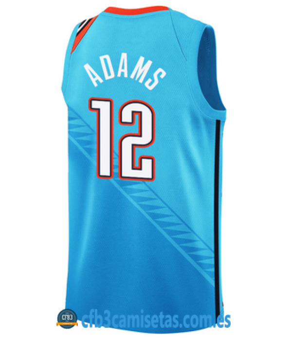 CFB3-Camisetas Steve Adams Oklahoma City Thunder 2...