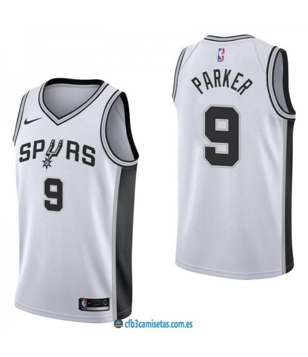 CFB3-Camisetas Tony Parker San Antonio Spurs Assoc...