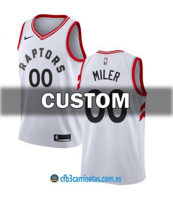 CFB3-Camisetas Toronto Raptors Association PERSONALIZABLE