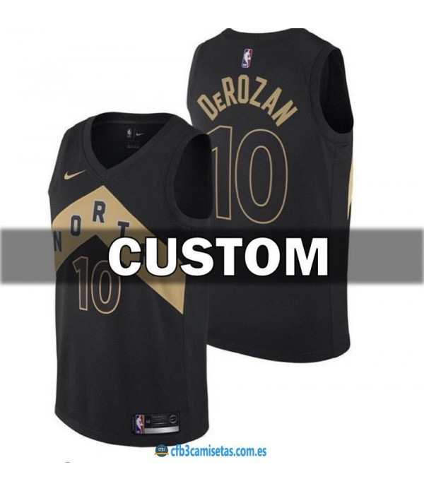 CFB3-Camisetas Toronto Raptors City Edition PERSON...