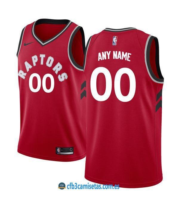 CFB3-Camisetas Toronto Raptors Icon PERSONALIZABLE