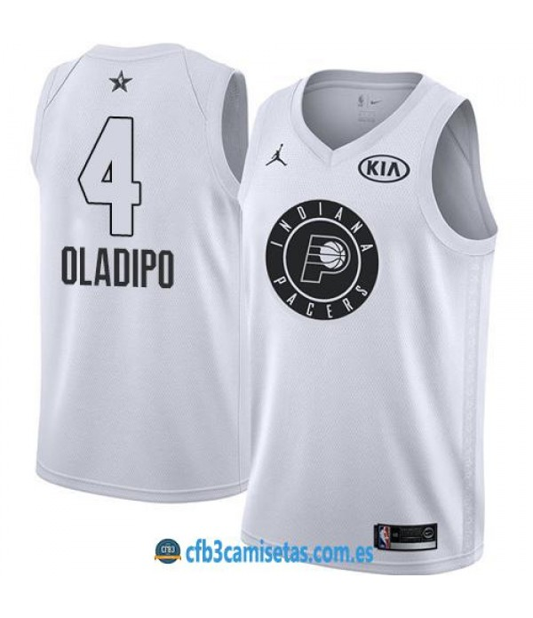 CFB3-Camisetas Victor Oladipo 2018 All Star White