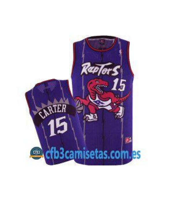 CFB3-Camisetas Vince Carter Toronto Raptors Morada