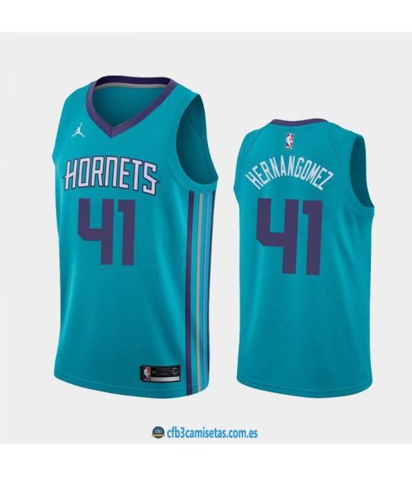 CFB3-Camisetas Willy Hernangómez Charlotte Hornets Icon Edition