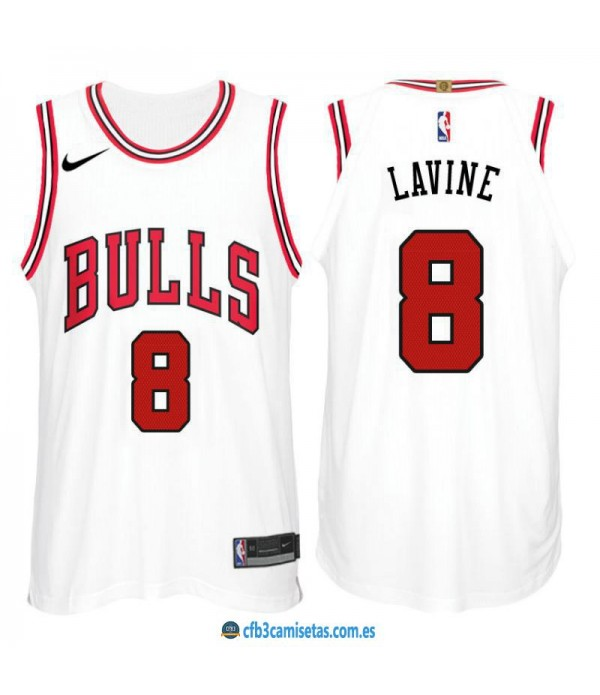 CFB3-Camisetas Zach LaVine Chicago Bulls Association