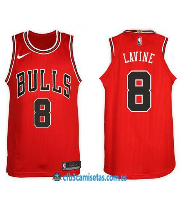 CFB3-Camisetas Zach LaVine Chicago Bulls Icon