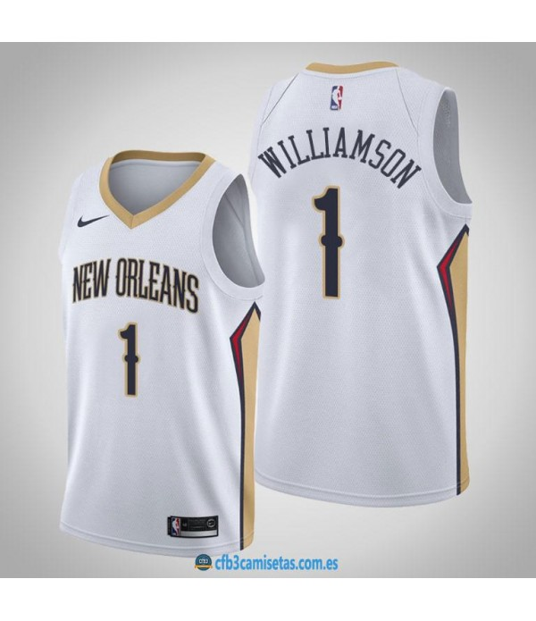 CFB3-Camisetas Zion Williamson New Orleans Pelican...