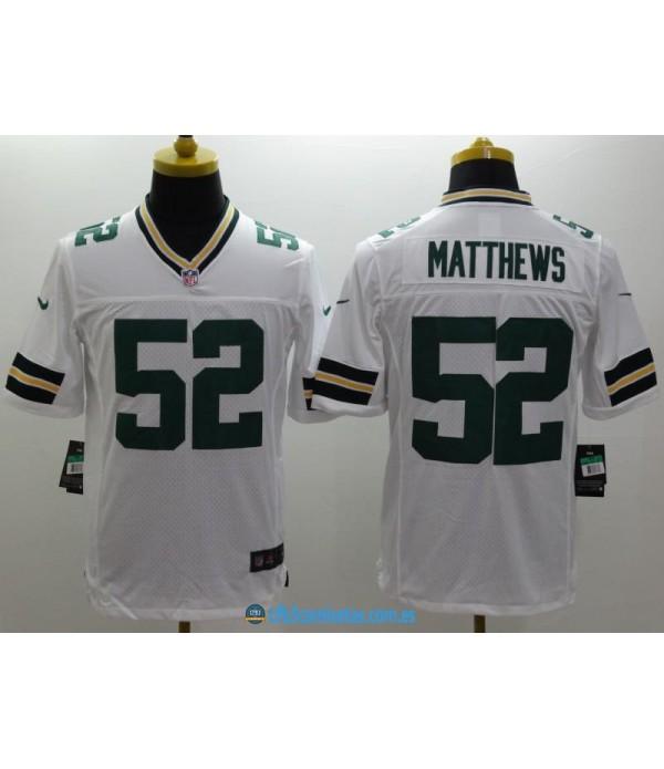 CFB3-Camisetas Clay Matthews Green Bay Packers