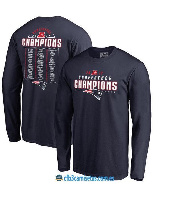 CFB3-Camisetas Conference Champions New England Patriots
