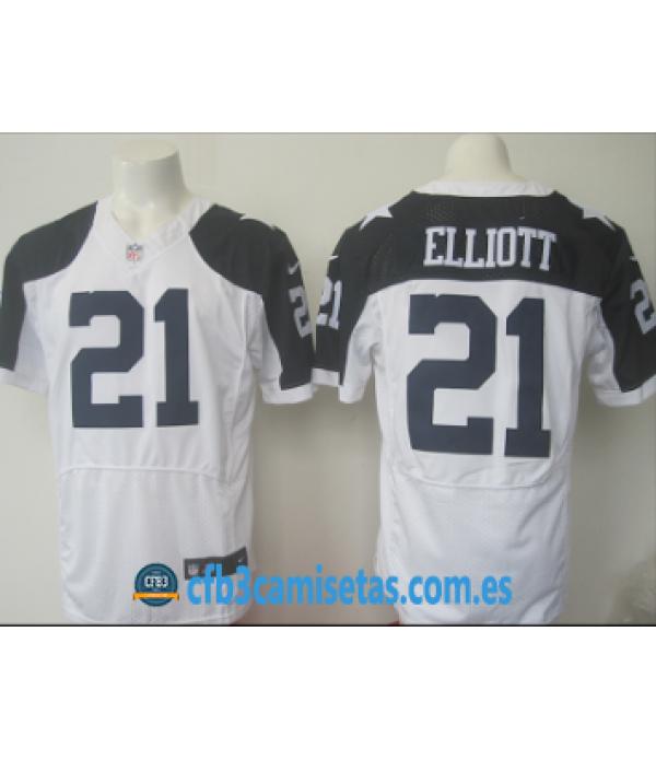 CFB3-Camisetas Ezekiel Elliott Dallas Cowboys