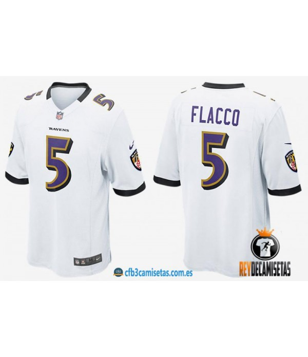 CFB3-Camisetas Joe Flacco Ravens