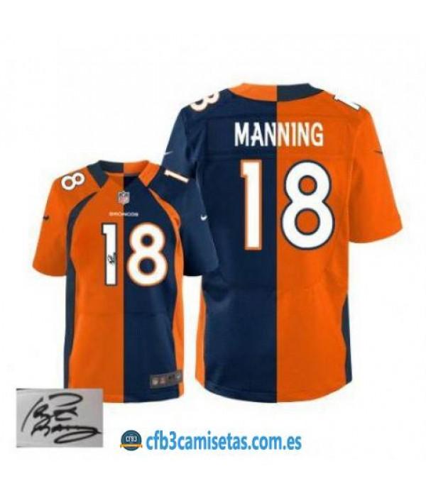 CFB3-Camisetas Peyton Manning Denver Broncos Team/...