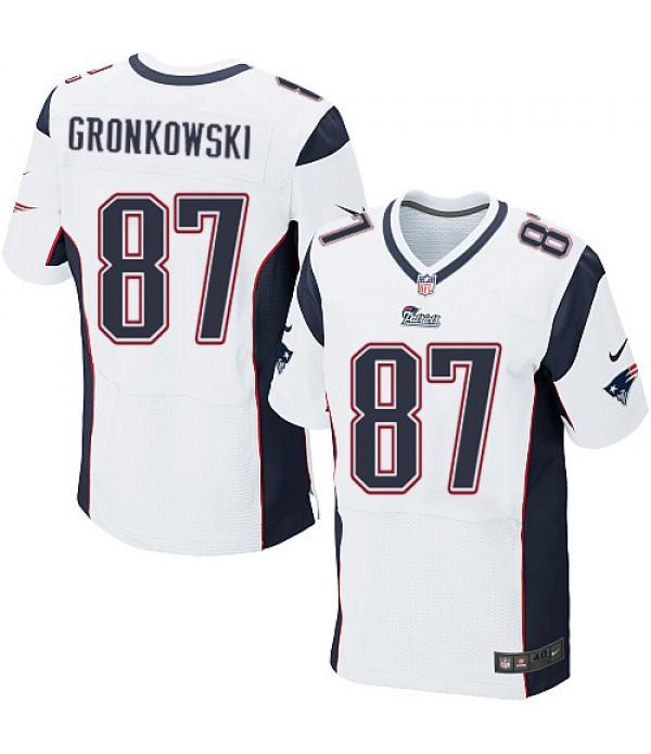 CFB3-Camisetas Rob Gronkowski New England Patriots...