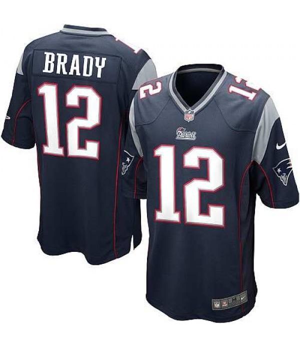 CFB3-Camisetas Tom Brady New England Patriots Blue