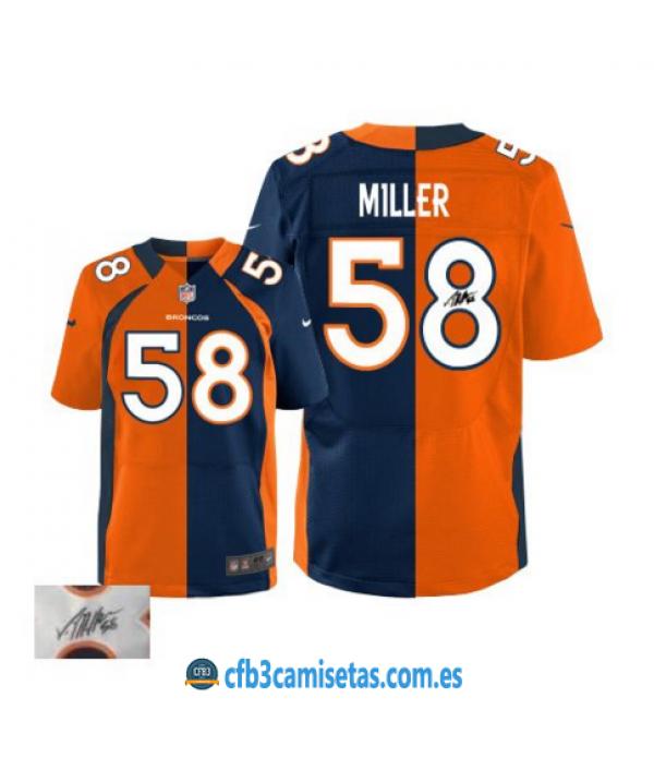 CFB3-Camisetas Von Miller Denver Broncos Team/ Alternate