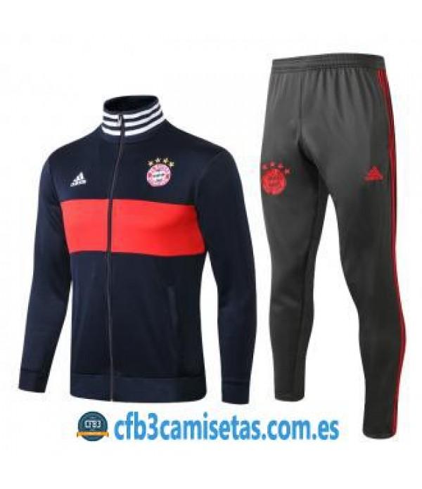 CFB3-Camisetas Chándal Bayern Munich 2018 2019
