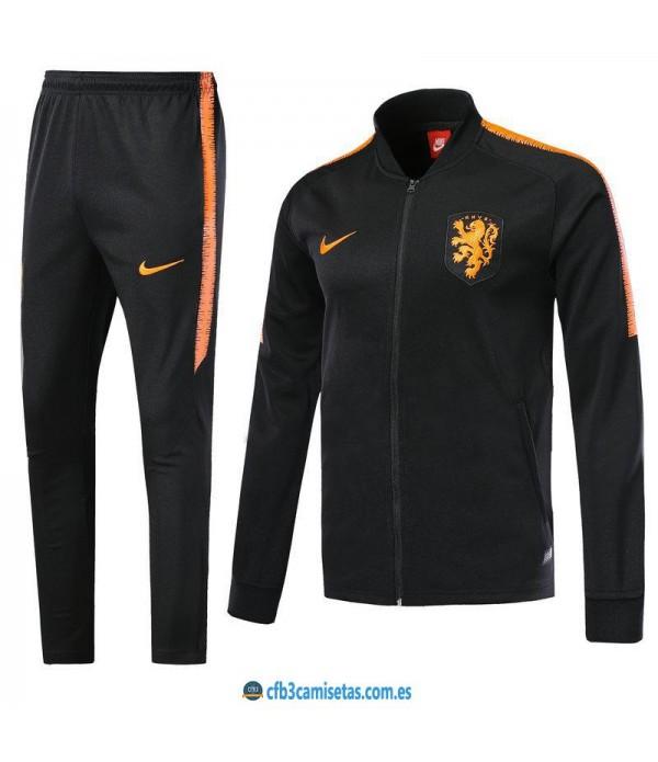 CFB3-Camisetas Chándal Holanda 2018
