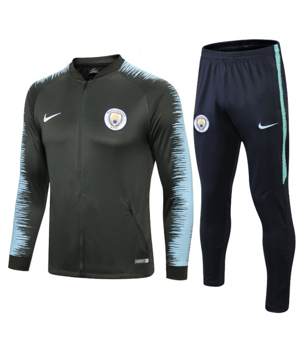 CFB3-Camisetas Chándal Manchester City 2018 2019