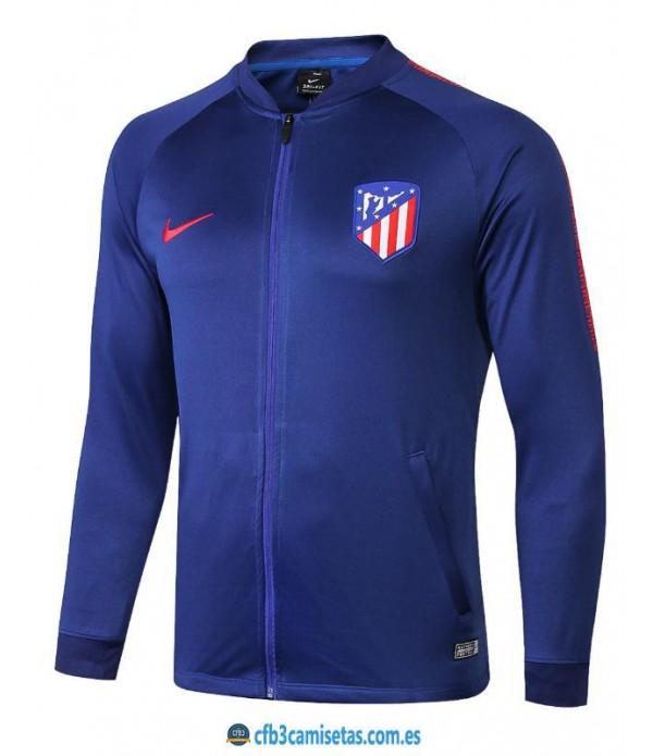 CFB3-Camisetas Chaqueta Atlético de Madrid Azul 2...