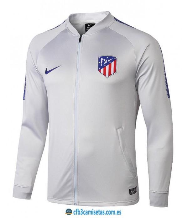 CFB3-Camisetas Chaqueta Atlético de Madrid Gris 2...