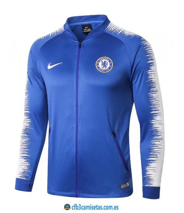 CFB3-Camisetas Chaqueta Chelsea 2018 2019