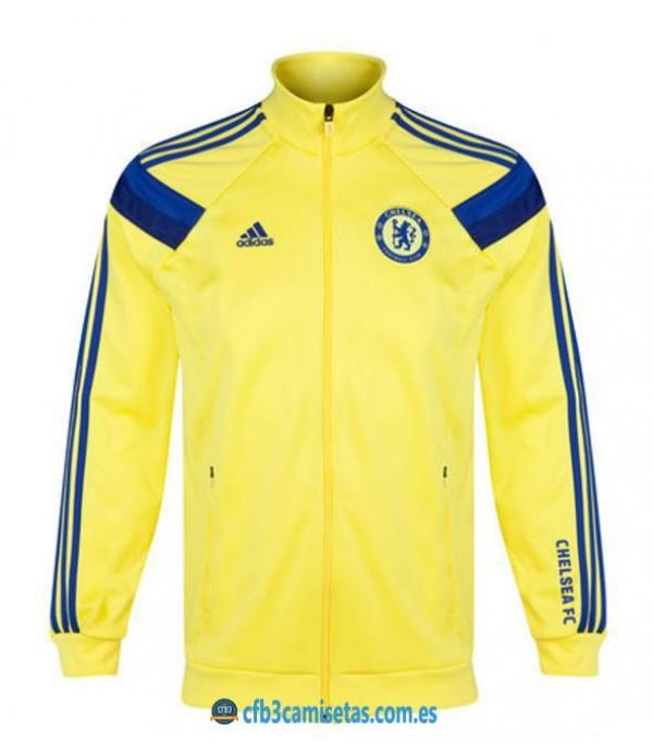 CFB3-Camisetas Chaqueta Chelsea FC Amarilla/Azul