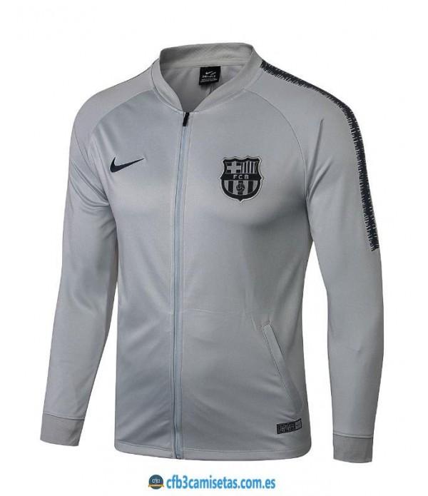 CFB3-Camisetas Chaqueta FC Barcelona 2018 2019