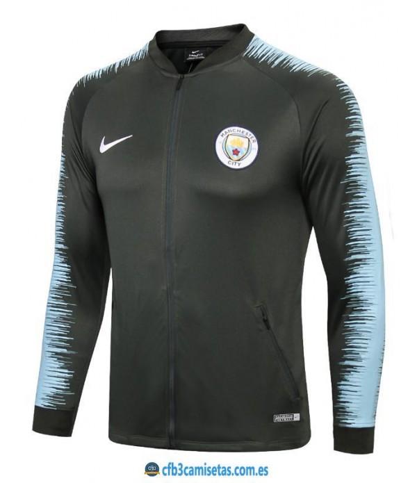 CFB3-Camisetas Chaqueta Manchester City 2018 2019