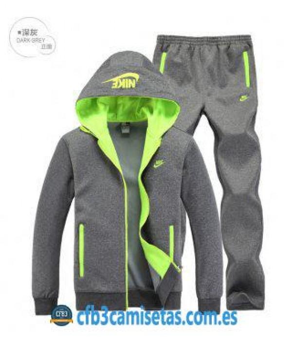 CFB3-Camisetas Chaqueta Nike Originals Sudaderas Plus de terciopelo Sudadera+Pantalón S4