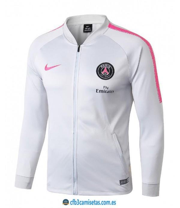 CFB3-Camisetas Chaqueta PSG 2018/2019 White