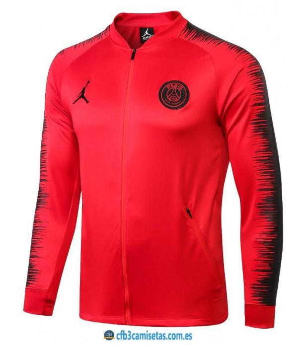 CFB3-Camisetas Chaqueta PSG x Jordan 2018 2019