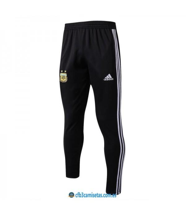 CFB3-Camisetas Pantalón Argentina 2018 Negro