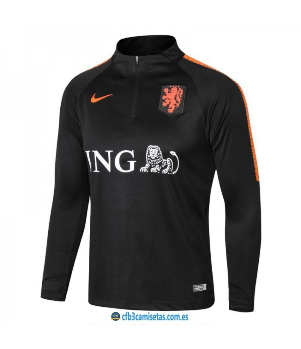 CFB3-Camisetas Sudadera Holanda 2018