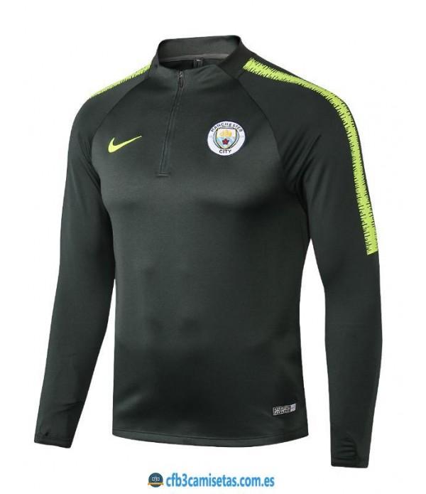 CFB3-Camisetas Sudadera Manchester City 2018 2019
