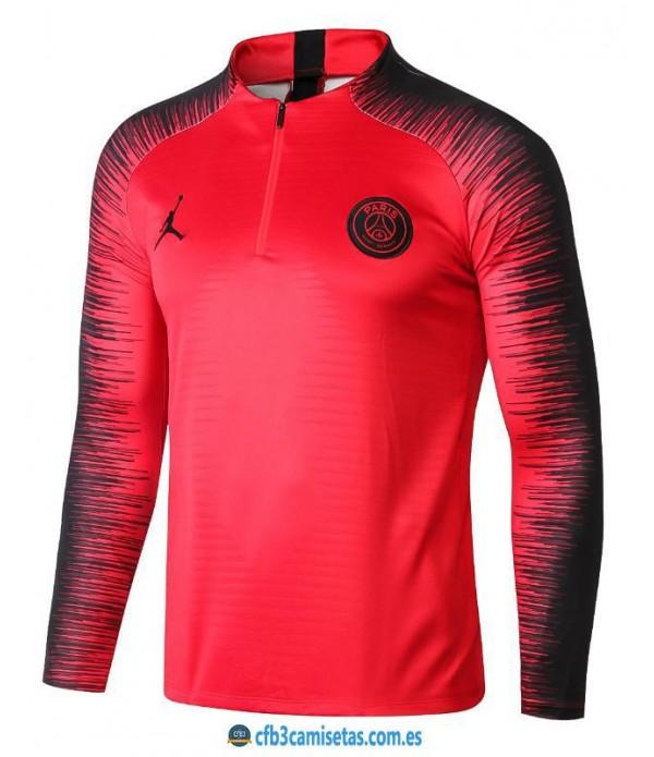 CFB3-Camisetas Sudadera PSG x Jordan 2018 2019