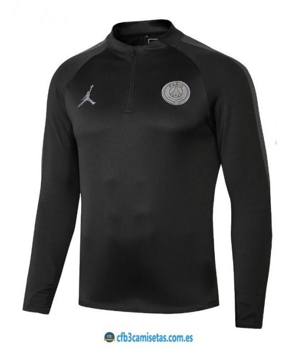 CFB3-Camisetas Sudadera PSG x Jordan 2018 2019 All...