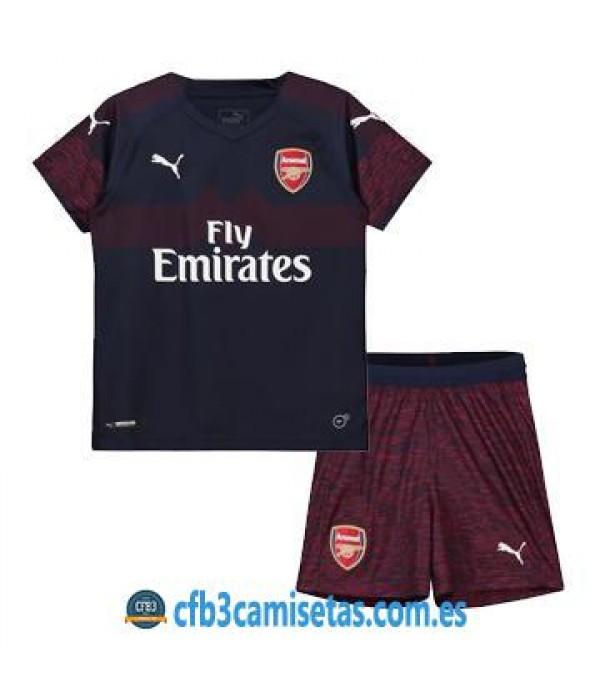 CFB3-Camisetas Arsenal 2ª Equipación NIÑOS 2018...