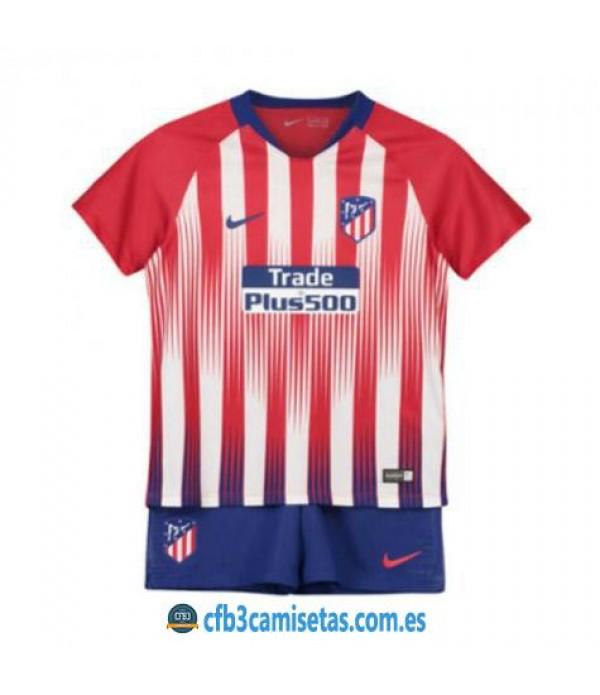 CFB3-Camisetas Atlético de Madrid 1ª equipación NIÑOS 2018/2019