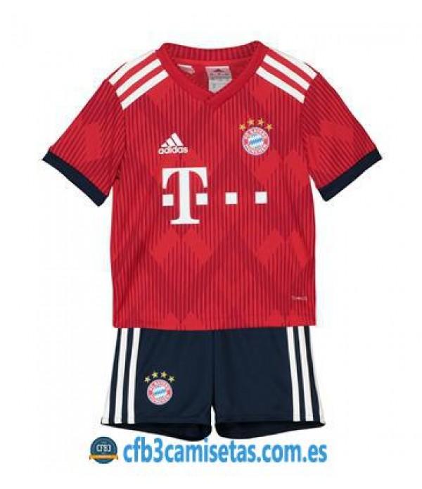 CFB3-Camisetas Bayern de Munich 1ª 2018 2019 NIÑOS
