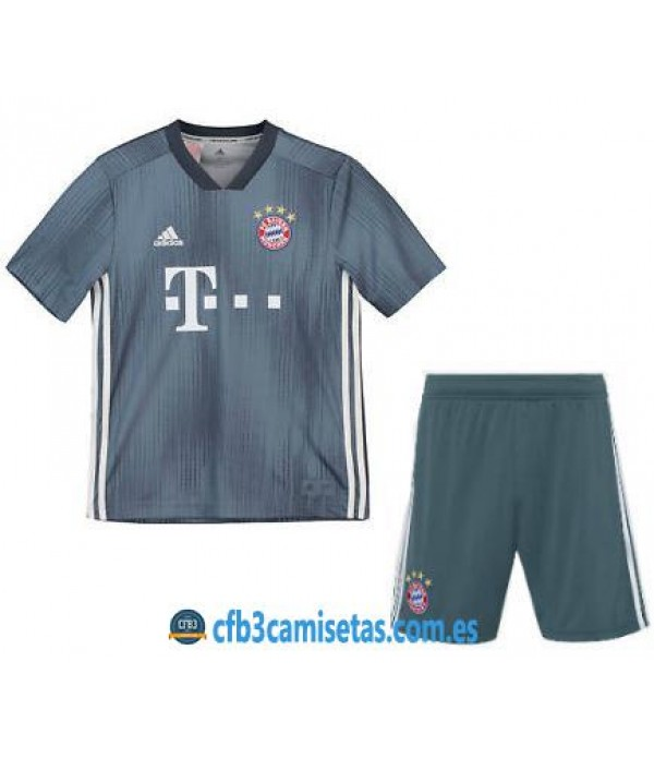 CFB3-Camisetas Bayern de Munich 3ª 2018 2019 NIÑOS
