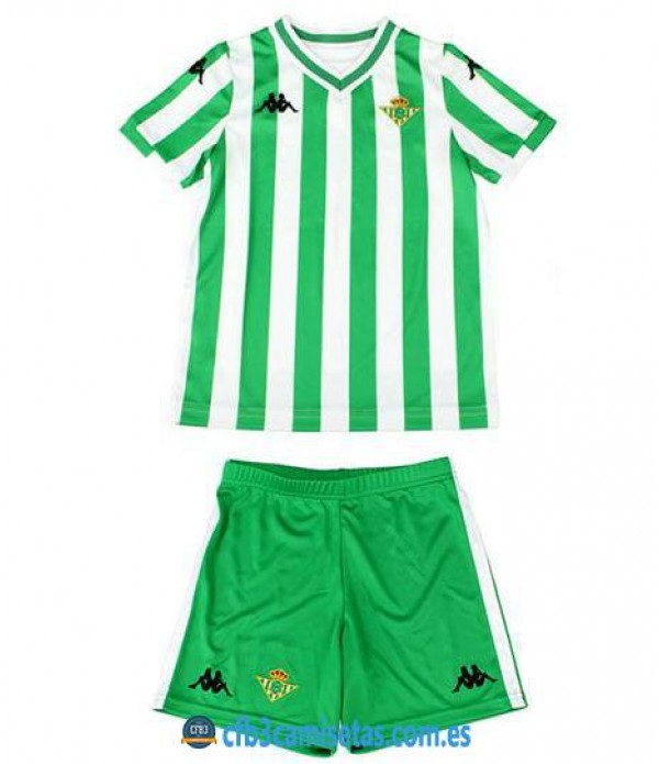 CFB3-Camisetas Betis 1ª equipación NIÑOS 2018/2019 NIÑO