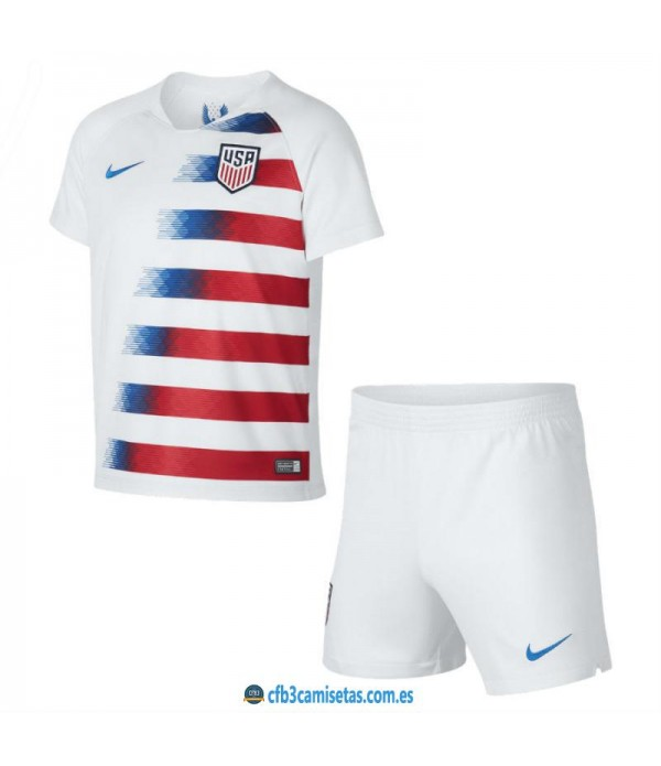 CFB3-Camisetas EEUU 1a Equipación 2018 NIÑO