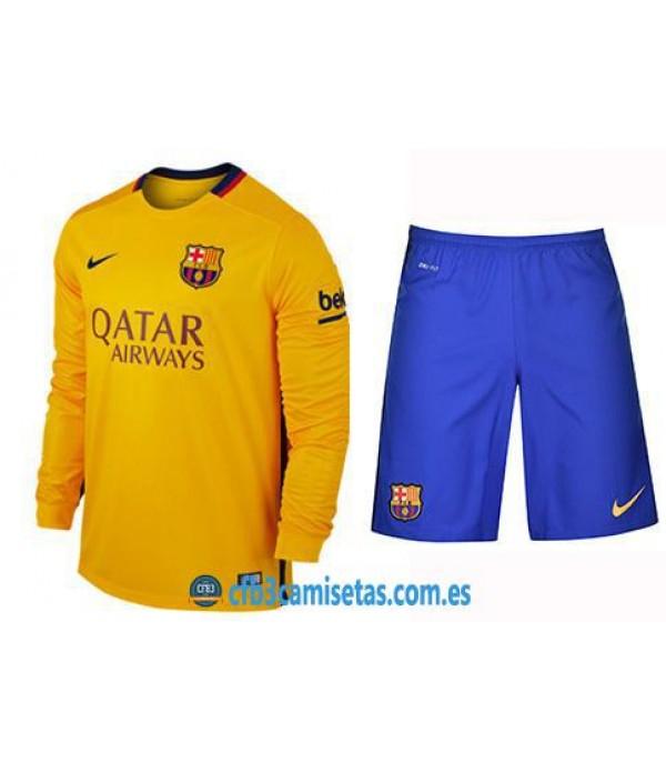 CFB3-Camisetas FC Barcelona 2ª EquipacionML NIÑO...