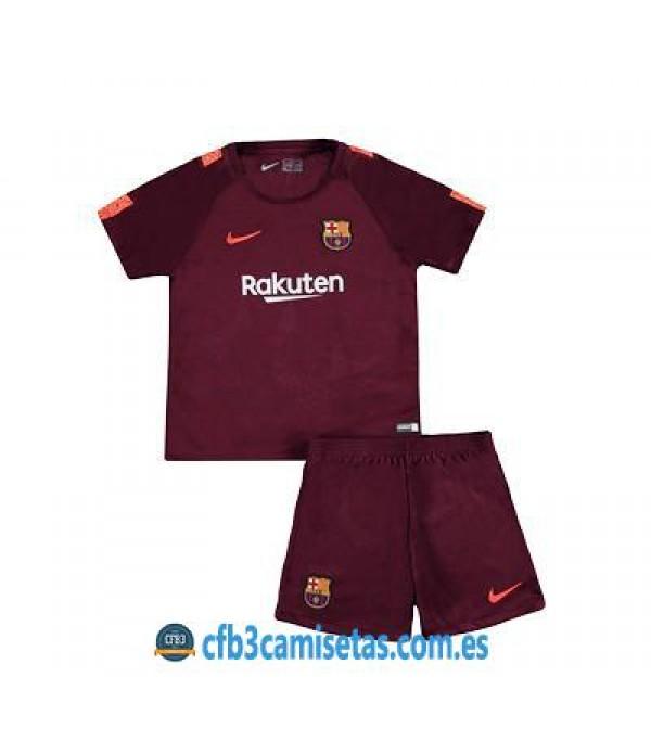 CFB3-Camisetas FC Barcelona 3ª Equipacion NIÑOS 17/18