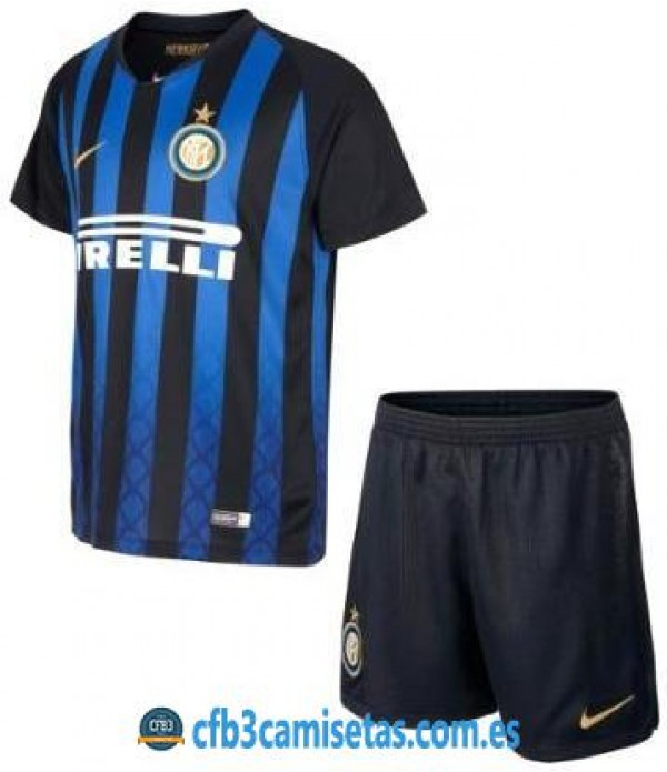 CFB3-Camisetas Inter Milan 1ª Equipación NIÑOS 2018 2019