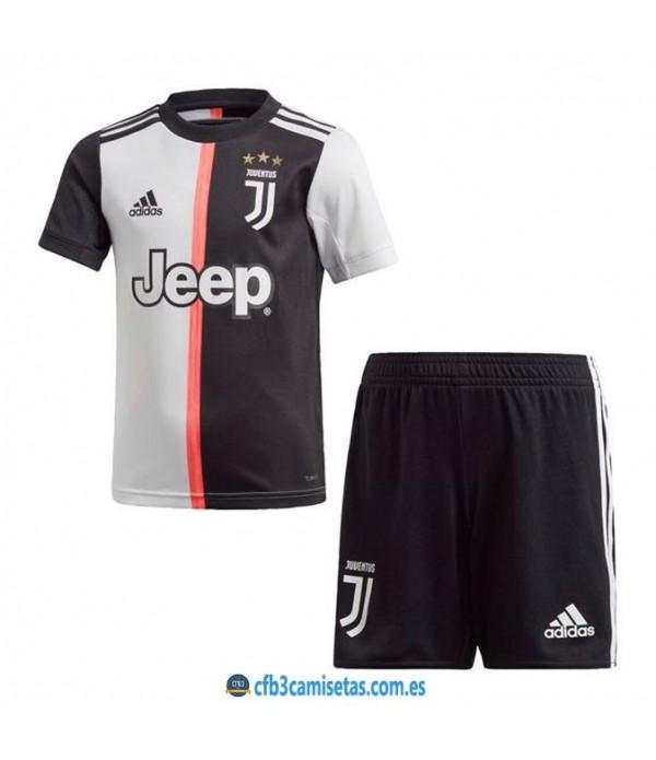 CFB3-Camisetas Juventus 1a Equipación 2019 2020 Kit Junior
