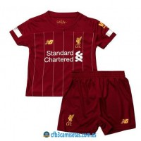 CFB3-Camisetas Liverpool 1a Equipación 2019 2020 Kit Junior