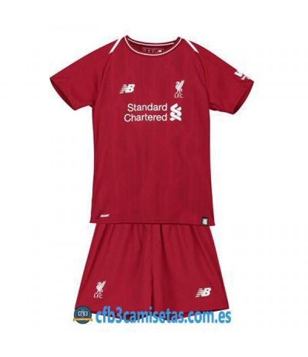 CFB3-Camisetas Liverpool 1a Equipación NIÑOS 2018 2019