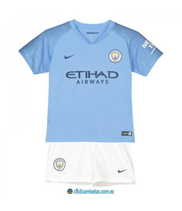 CFB3-Camisetas Manchester City 1ª Equipacion NIÑ...