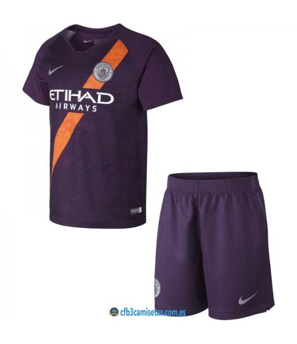 CFB3-Camisetas Manchester City 3ª Equipacion NIÑ...
